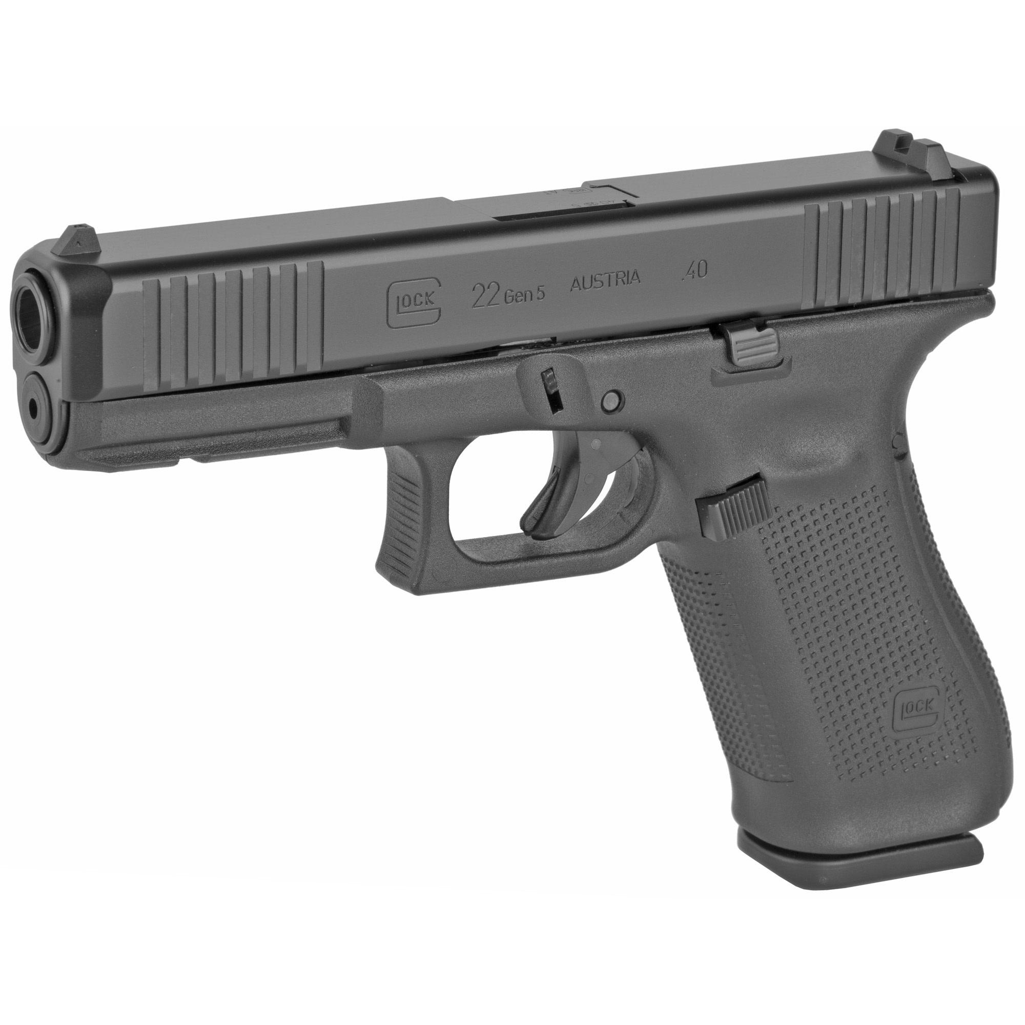 Glock 22 Gen 5, 40S&W, Marksman Barrel, 10Rd, 3 Magazines