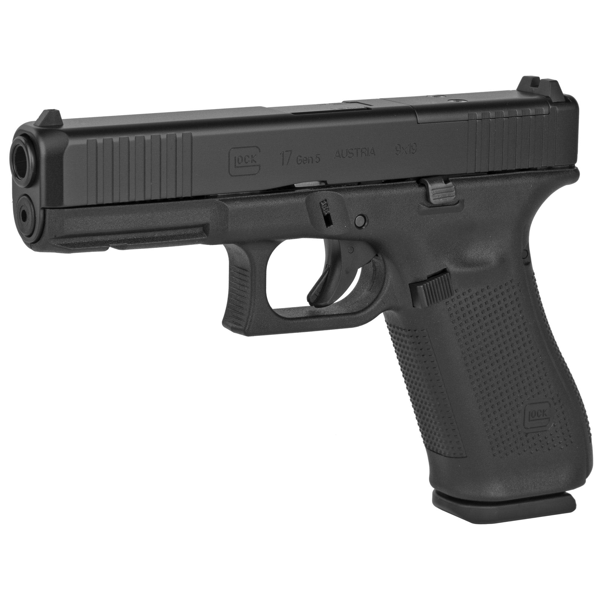 Glock 17 Gen 5 MOS, 9mm, 17 rd