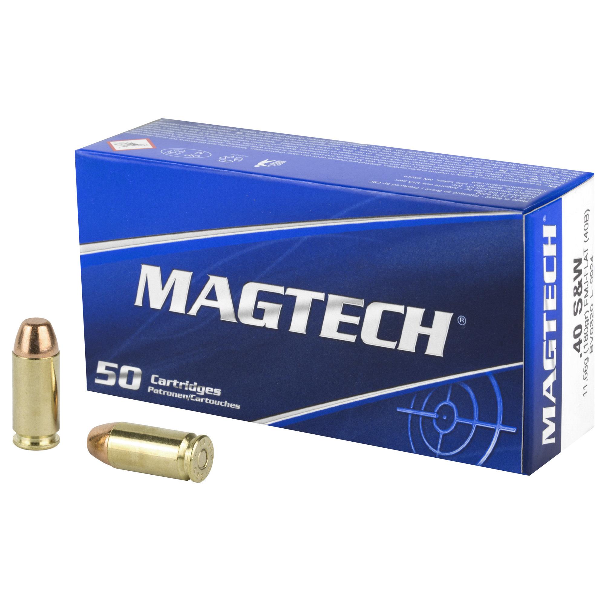 Ammo, Magtech, 40 S&W, 180 gr