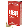 Ammo, Winchester, USA Ready, 9mm, 115, FMJ, 50rd