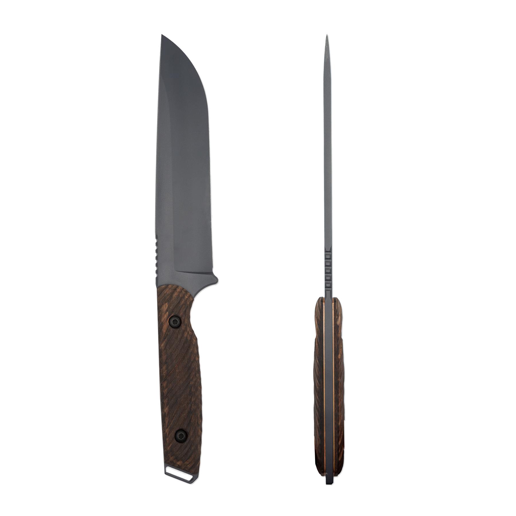 Toor Knives Field 1.0 - Battleship Grey