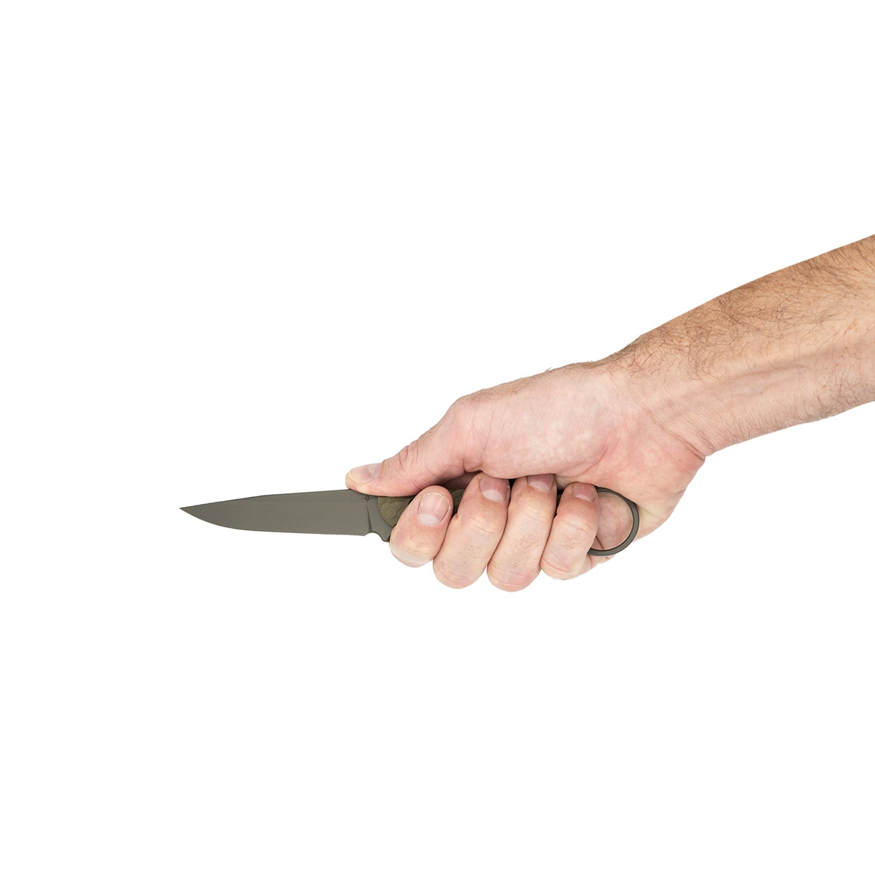 Toor Knives Anaconda - Ranger Green