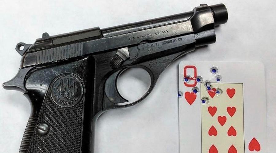 A .22 Caliber Fighting Pistol?