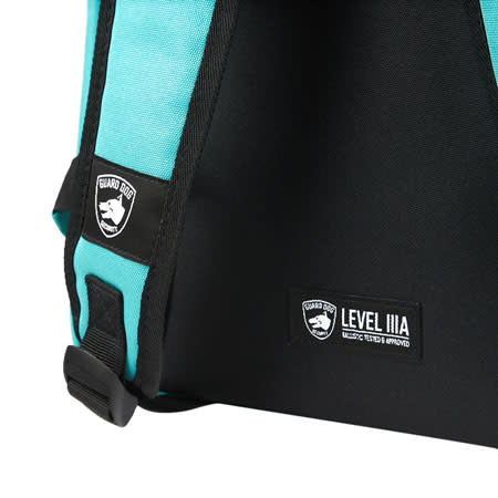 Guard Dog Proshield Scout backpack, Teal, 8.25'' L x 13'' W x 19.25''