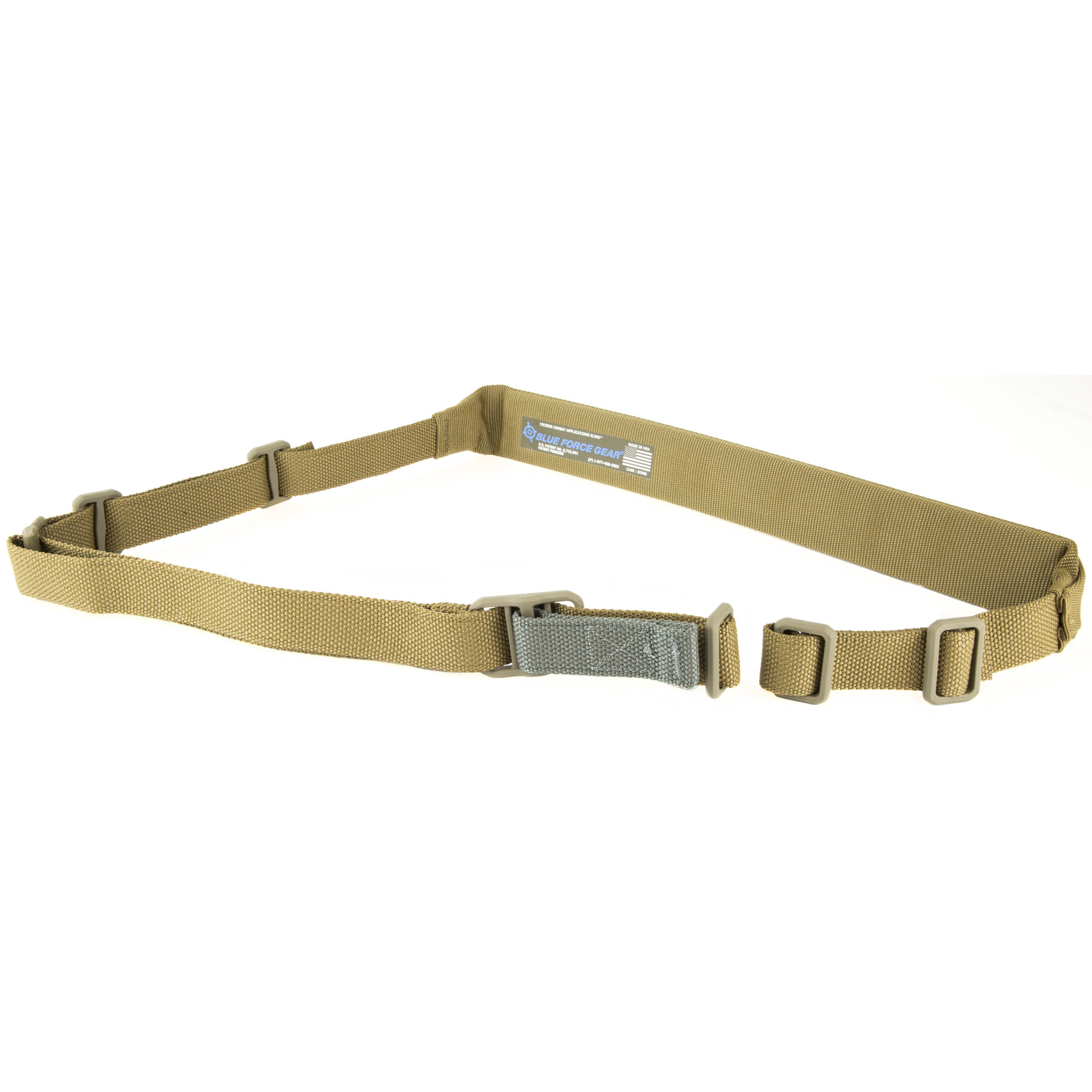 Blue Force Padded Vickers Combat Applications Sling, Coyote Brown