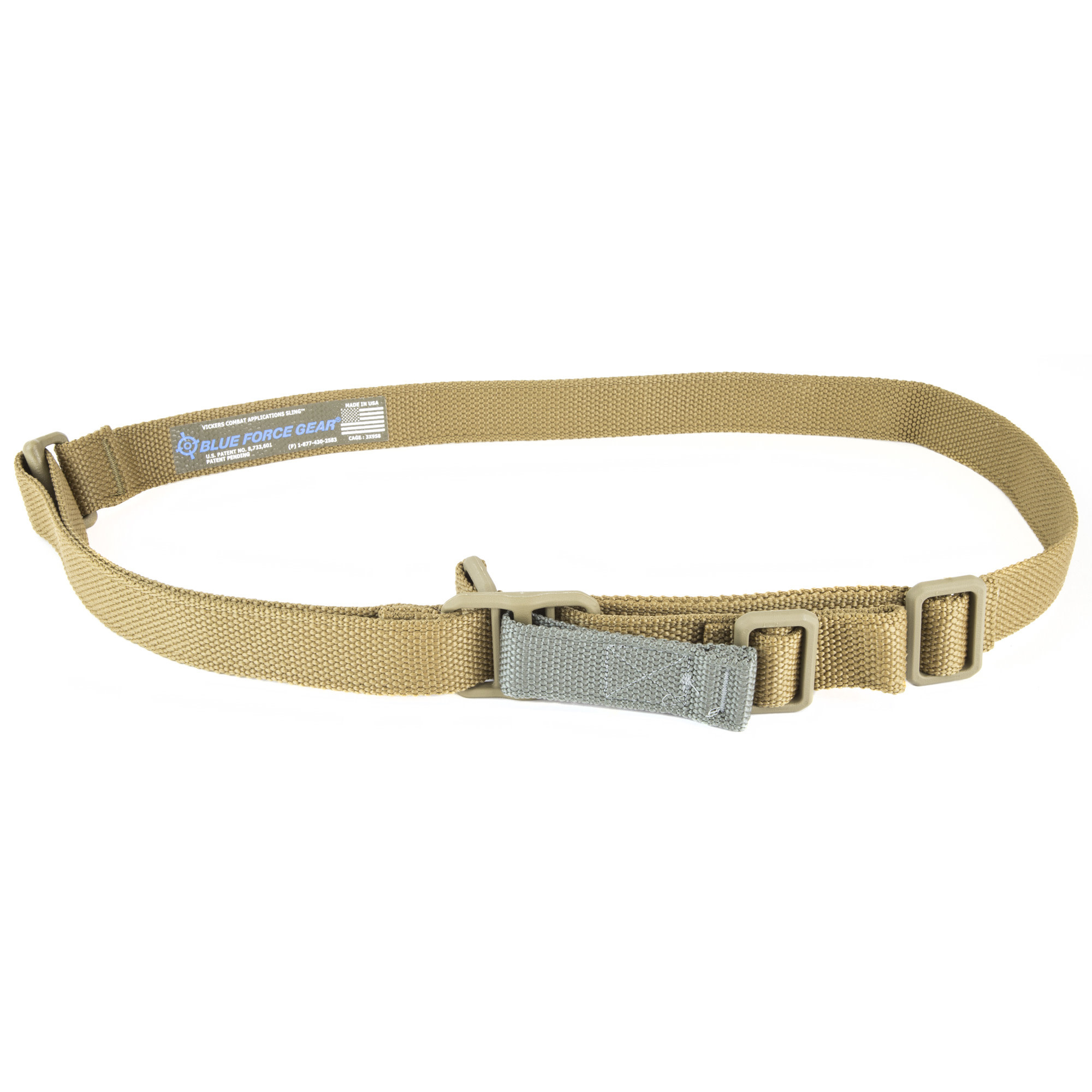 Blue Force Vickers Combat Applications Sling, Coyote Brown