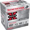"""Winchester Ammo X208 Super X High Brass 20 Gauge 2.75"""" 1 oz 8 Shot 25 Bx"""