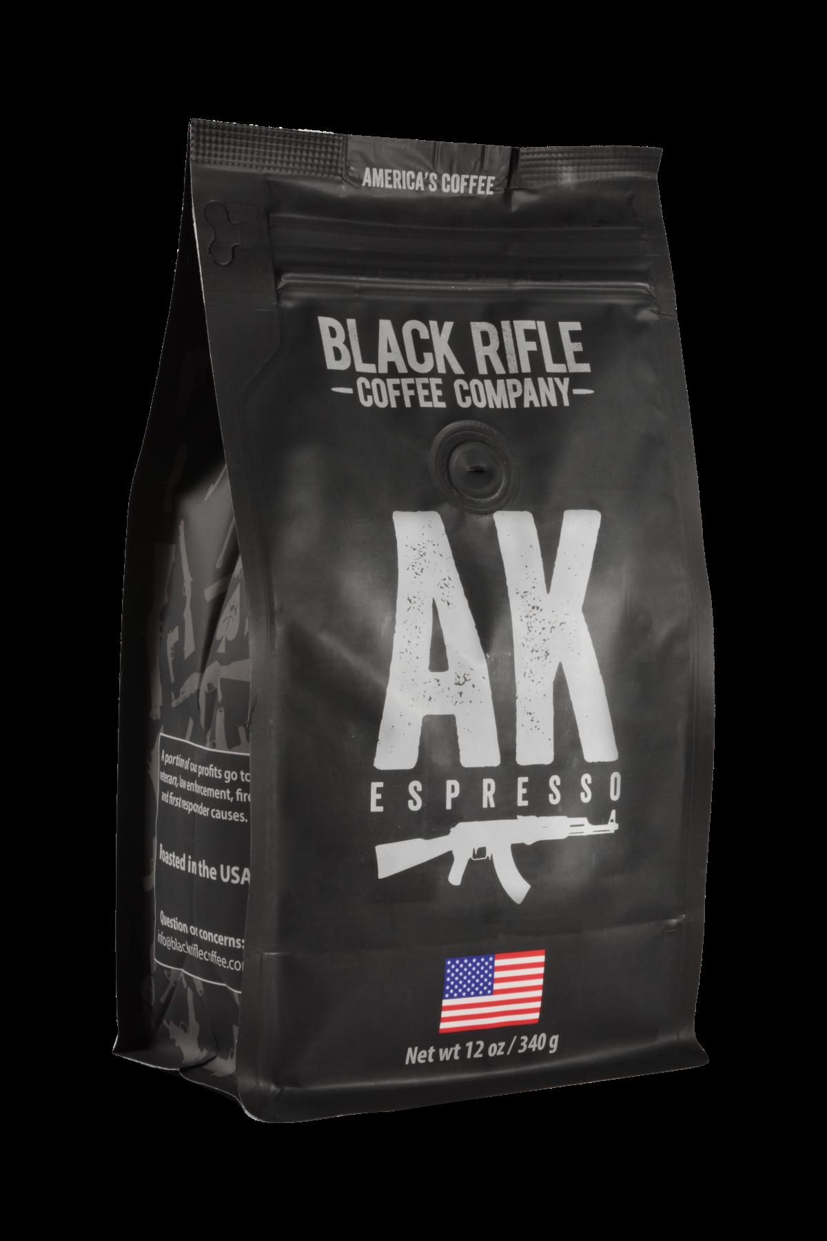 Black Rifle Coffee AK-47 Espresso Blend Coffee - 12 oz whole bean