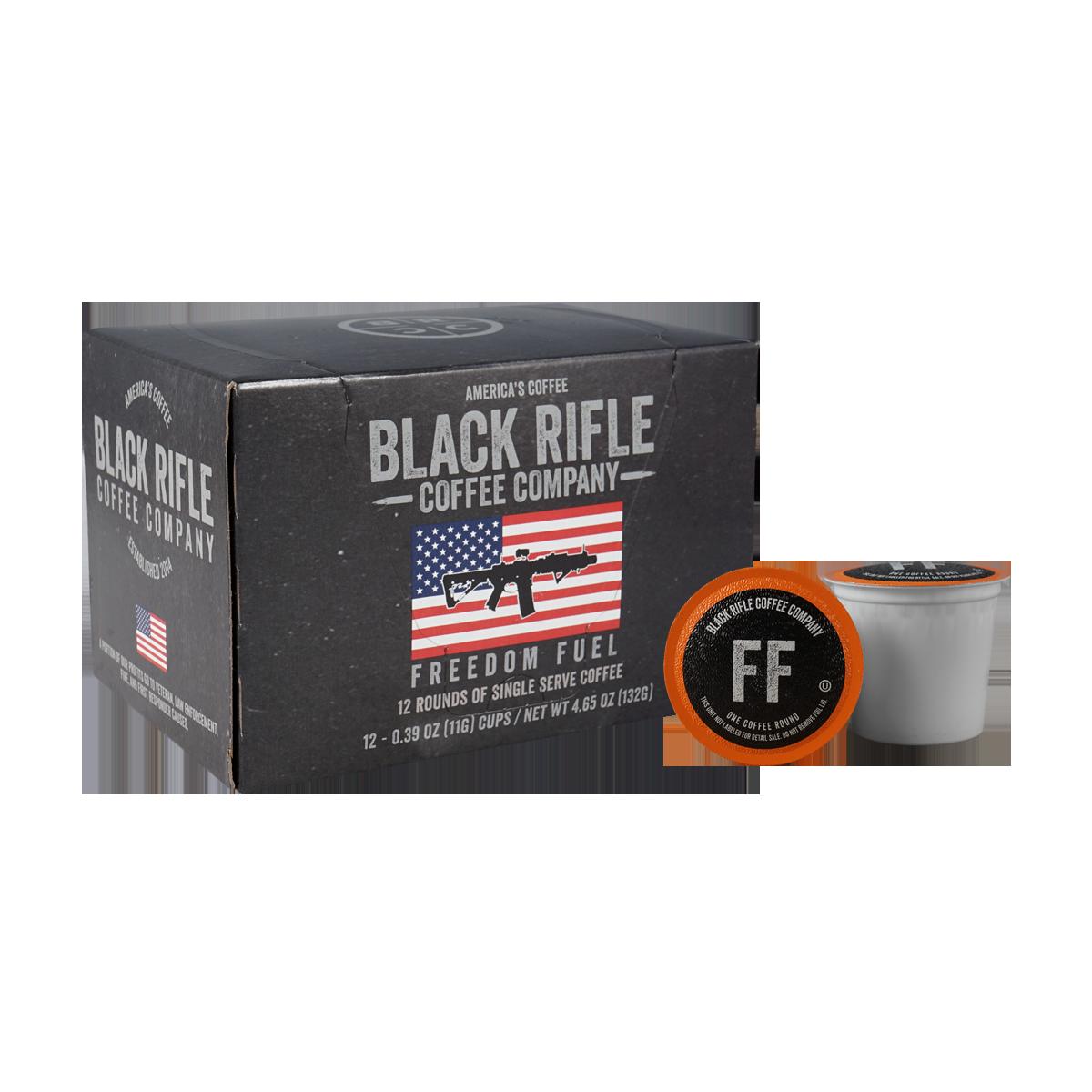 Black Rifle Coffee Freedom Fuel Coffee -12 cups - KCups