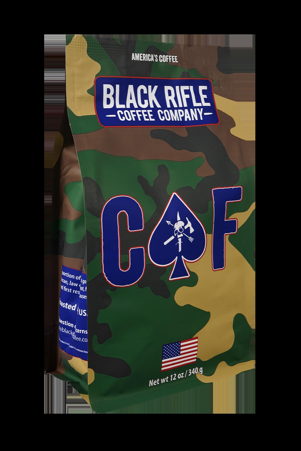 Black Rifle Coffee CAF Coffee Blend - 12 oz ground