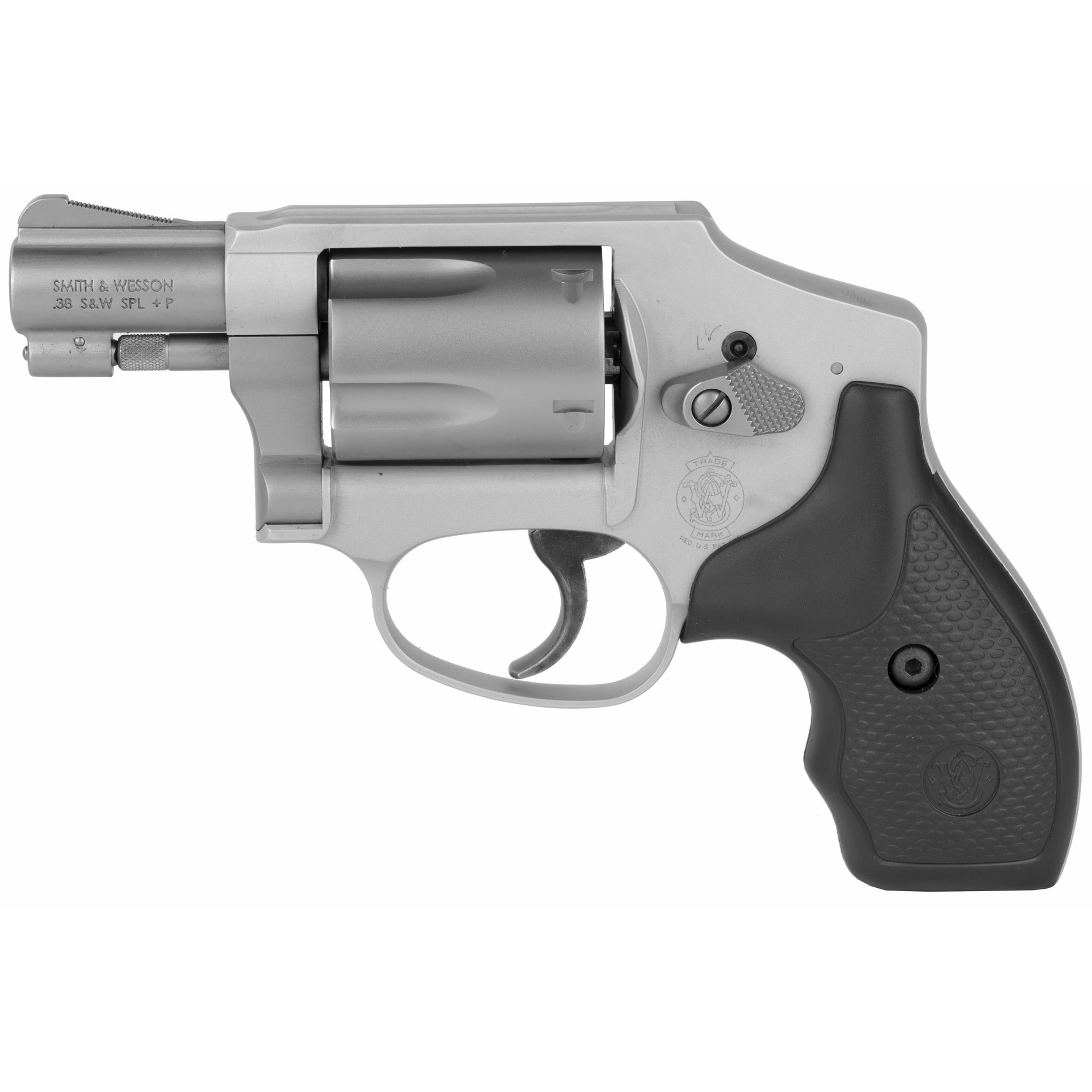 """Smith & Wesson 642, 38 +P, 1.875"""", ss, 5 rd"""