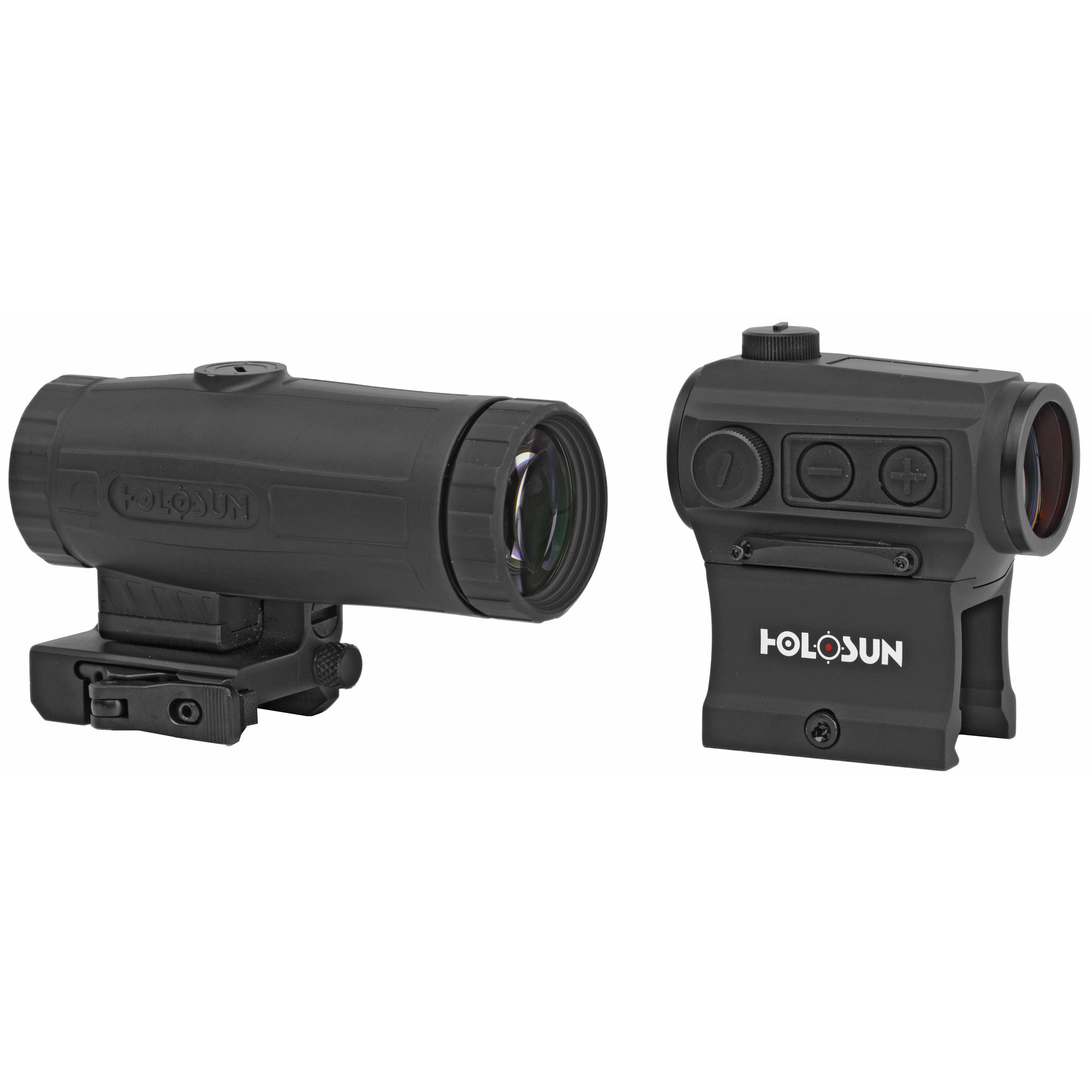 Holosun HS403C Micro Red Dot and HM3X Magnifier Combo Pack