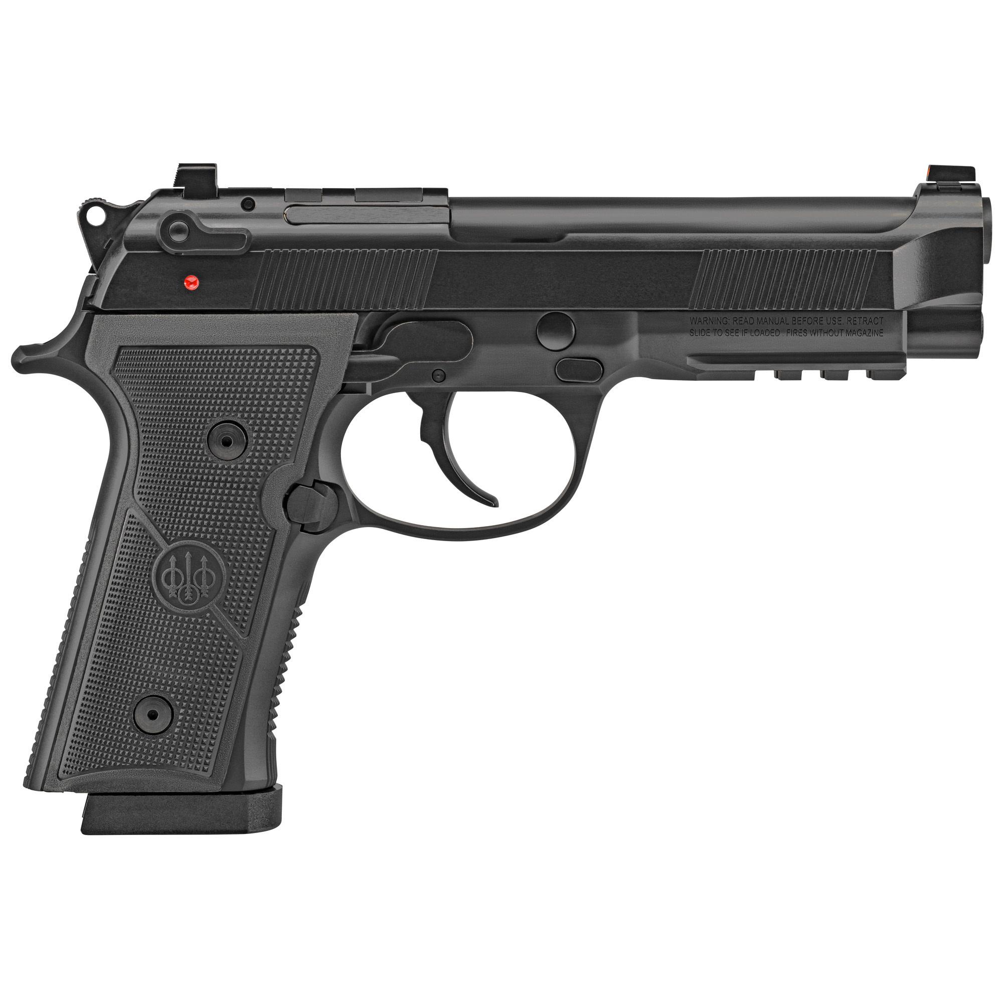 "Beretta 92X RDO Optics Ready, Black, DA/SA, 9mm, 4.7"" Barrel, Manual Safety/Decocker, 18 Rounds, 2 Magazines"