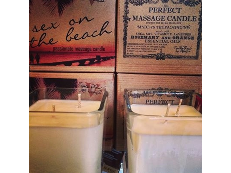 Vance Family Soy Candles Sex on the Beach Massage Candle