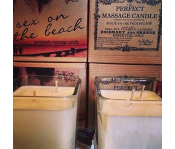 Lavender, Rosemary & Orange Massage Candle