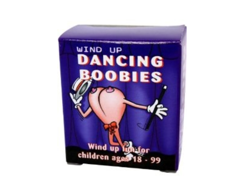 Pipedream Wind-Up Dancing Boobies