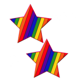 Pastease Rainbow Star Pasties