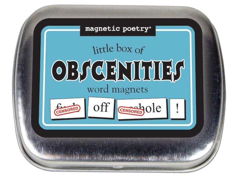Little Box of Obscenities Word Magnets