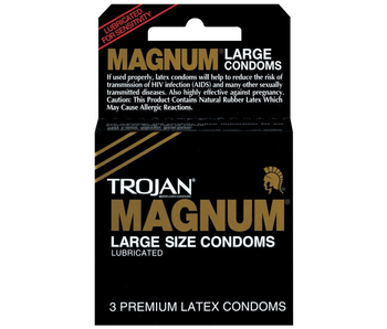 Trojan Magnum Condom (3 pack)