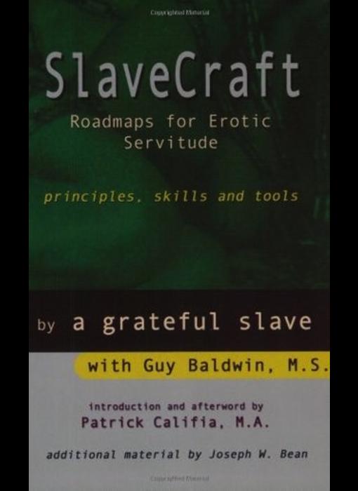 SlaveCraft: Roadmaps for Erotic Servitude (Principles, Skills and Tools)