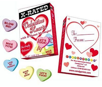 X-Rated Valentine Hearts