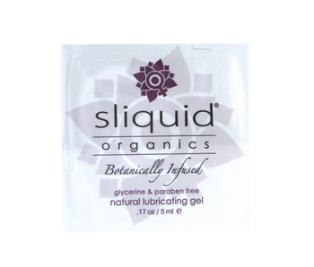 Sliquid Organics Natural Gel Sample