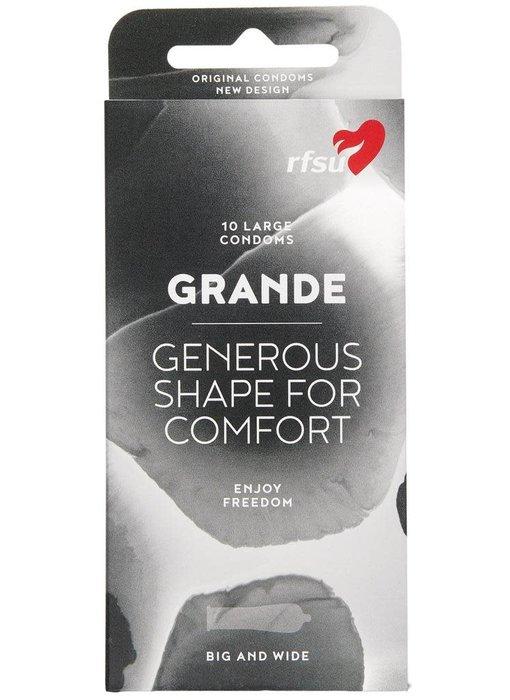 RFSU Grande Condoms (10 pack)