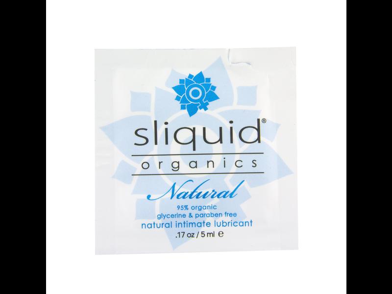 sliquid Sliquid Organics Natural Lube Sample