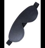 Stockroom Fleece-Lined Leather Blindfold