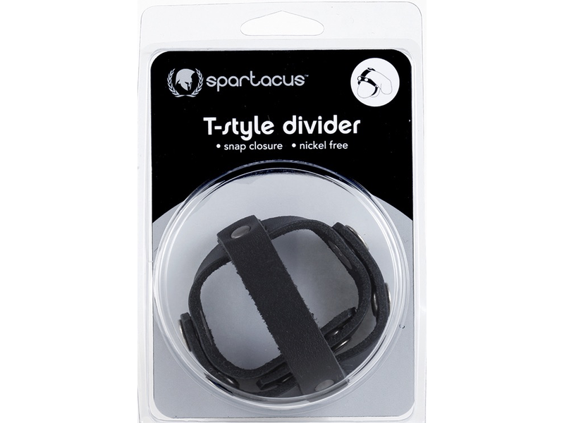 Spartacus Spartacus Leather T-Style Ball Divider