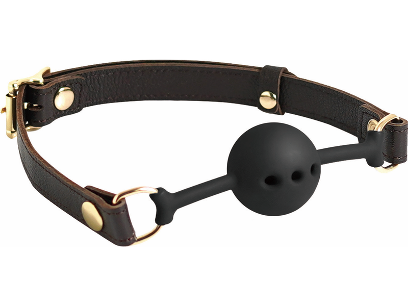 Spartacus Spartacus Breathable Silicone Ball Gag