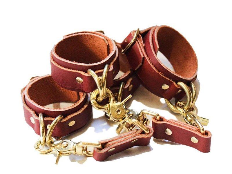 Riverqueer Leatherwork Riverqueer Leatherwork Rosemary Cuffs