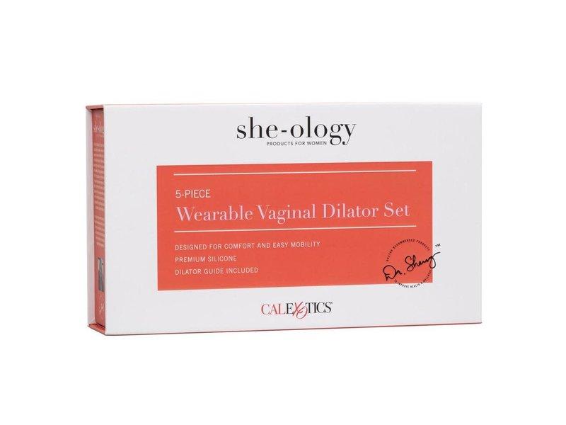 California Exotics California Exotics Wearable 5-Piece Vaginal Dilator Set
