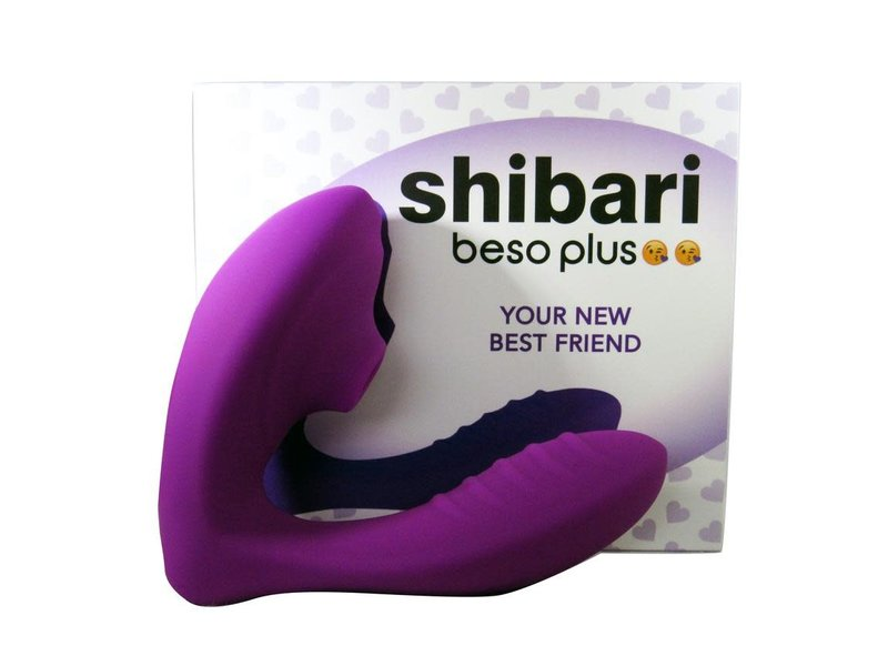 Shibari Shibari Beso Plus Suction Vibrator