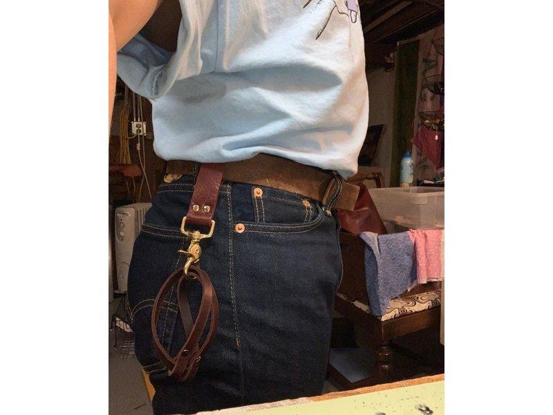 Riverqueer Leatherwork Riverqueer Leatherwork Cowboy Cuffs