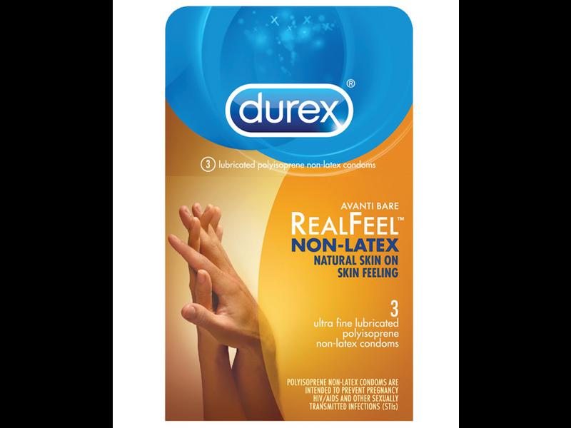 Durex RealFeel Non-Latex Condoms (3 pack)