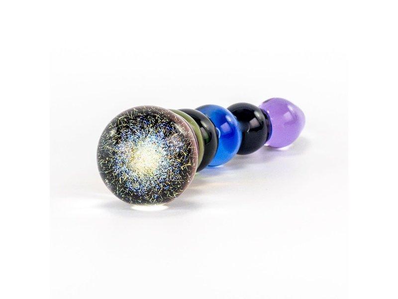 Crystal Delights Rainbow Bubble Dildo