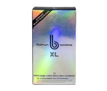 b condoms Platinum XL (12 pack)