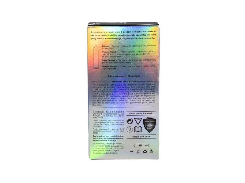 B Condoms b condoms Platinum XL (12 pack)