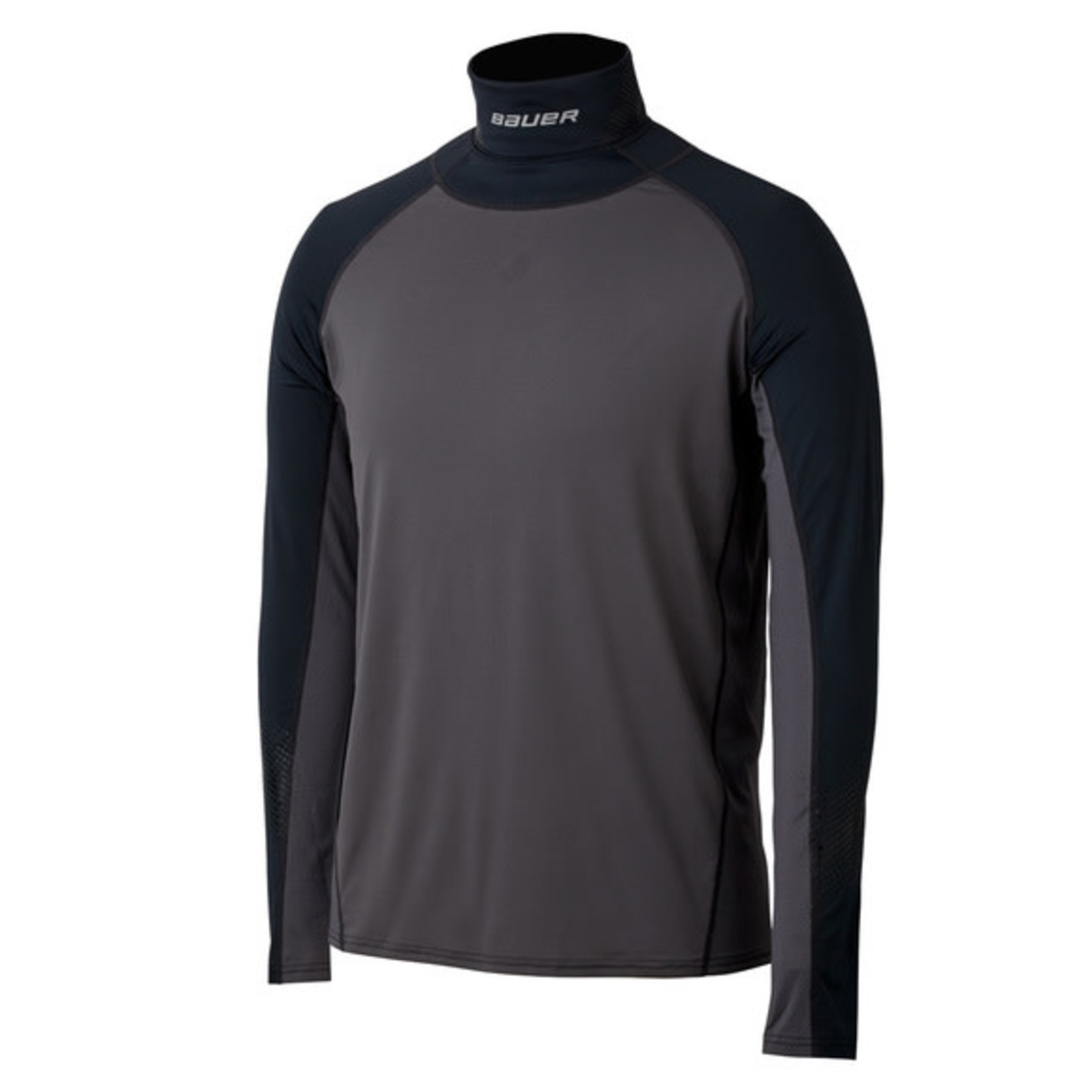 Bauer Bauer Long Sleeve Integrated NeckProtect Top, Senior