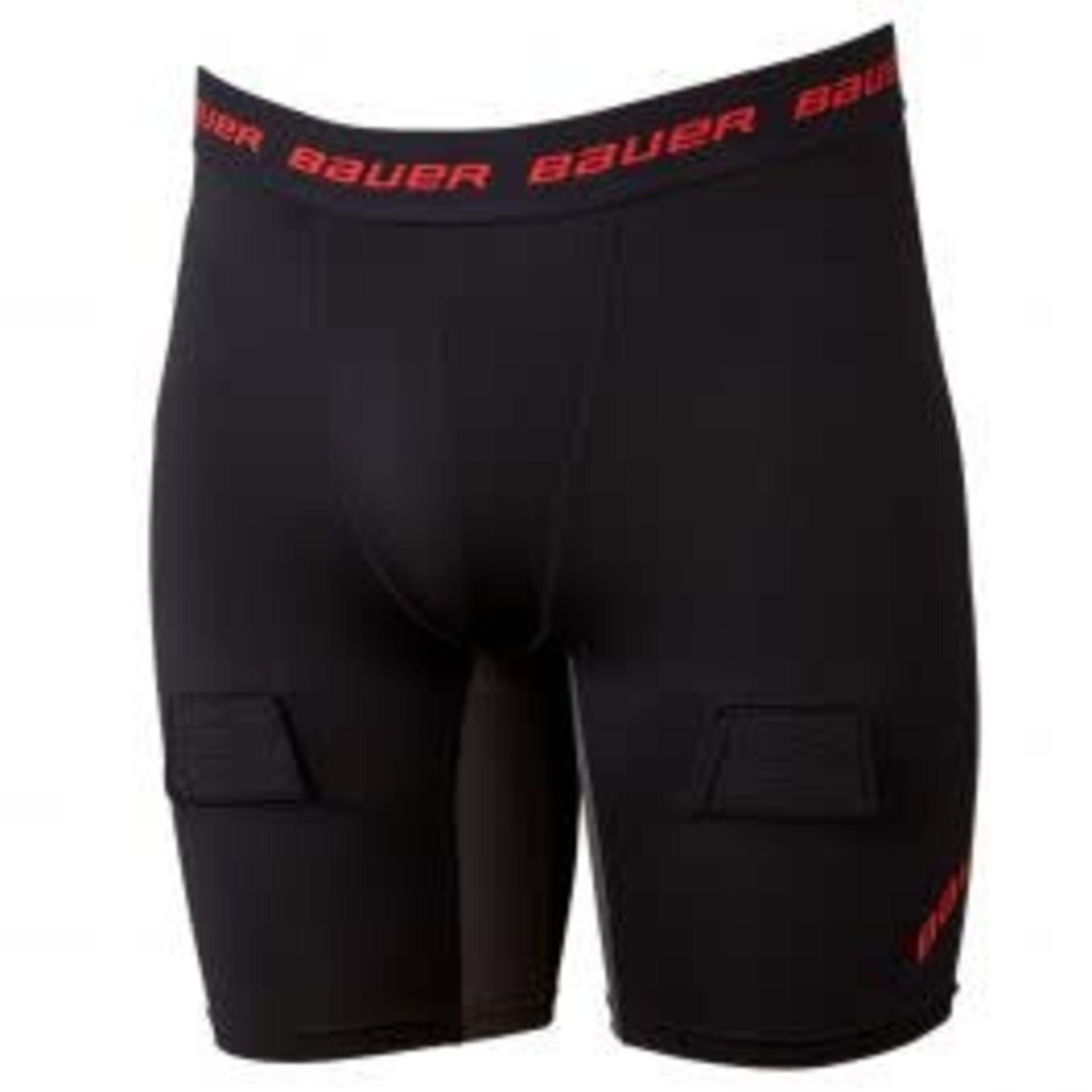 Bauer Bauer Compression Jock Shorts, Essential, Senior