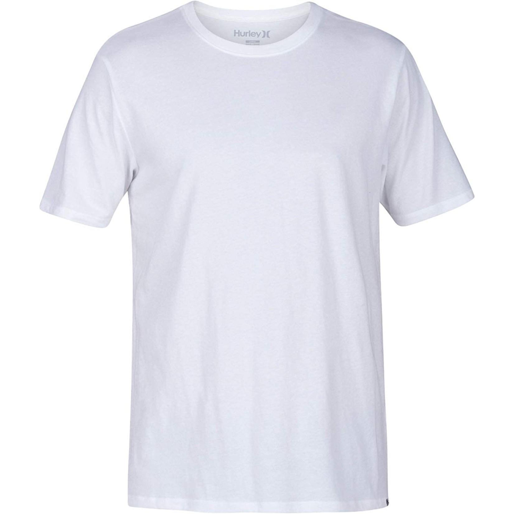 Hurley Hurley T-Shirt, Staple Crew, Mens