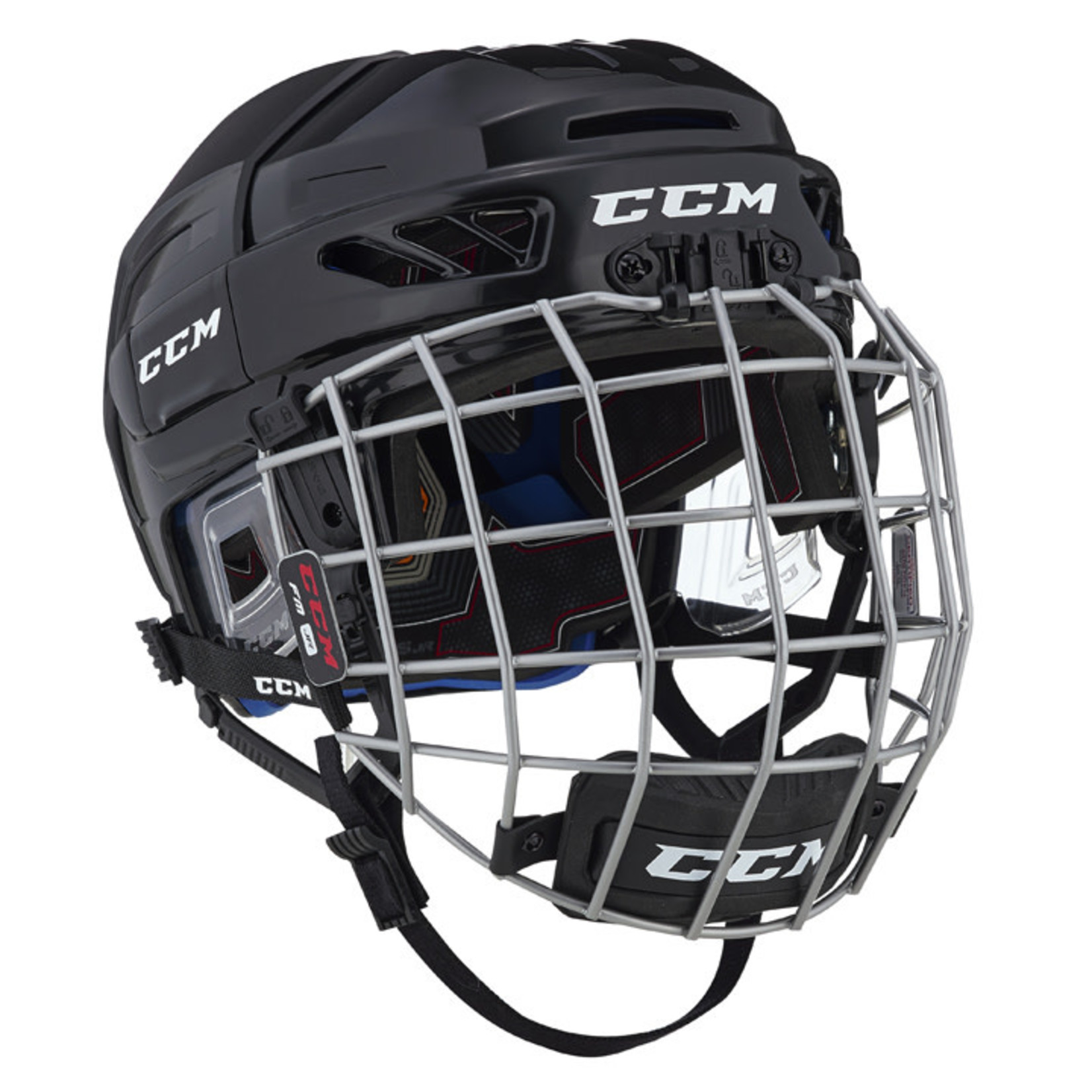 CCM CCM Hockey Helmet Combo, FL3DS, Junior