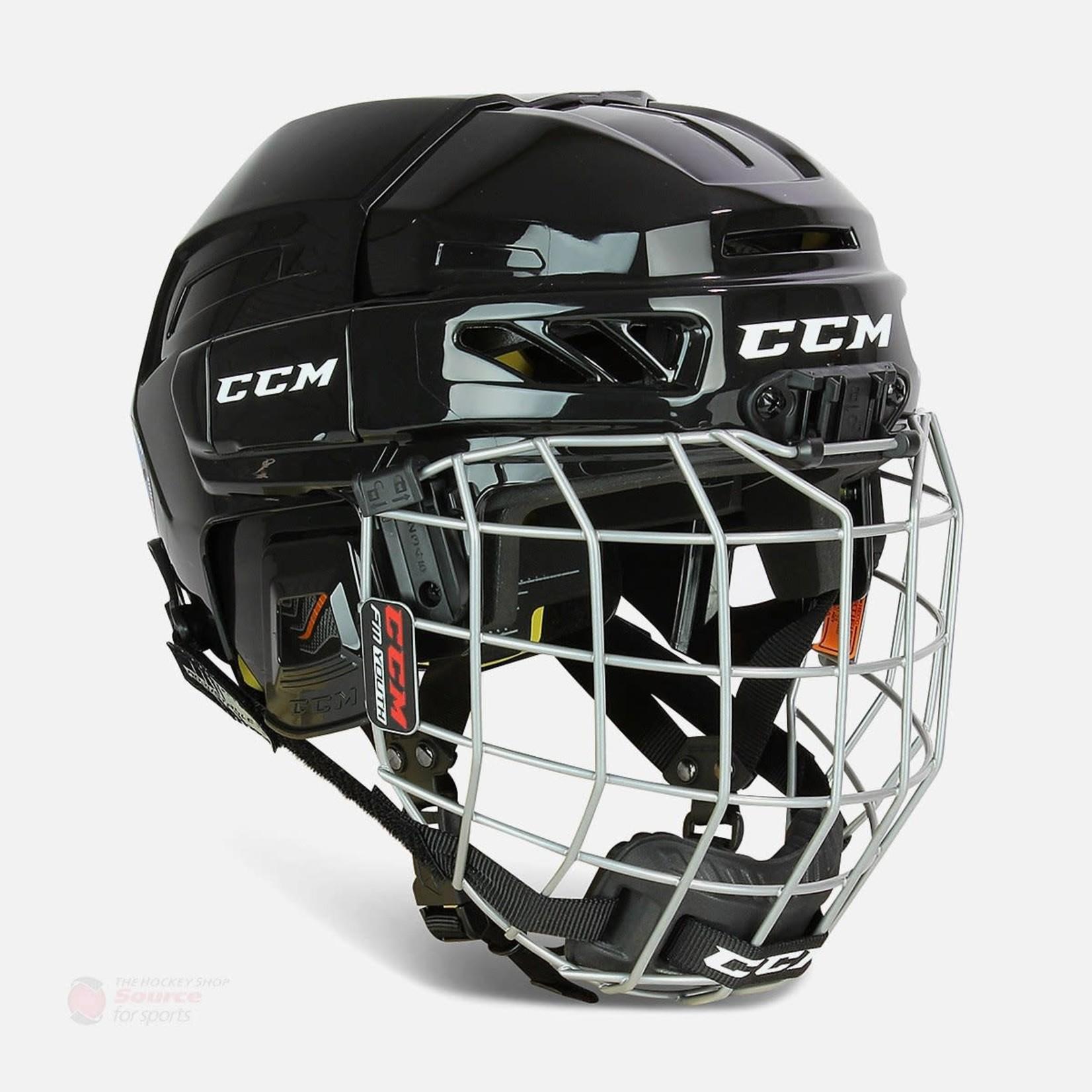 CCM CCM Hockey Helmet Combo, FL3DS, Youth