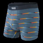 Saxx Saxx Underwear, Undercover Boxer Brief Fly, Mens, FSB-Blu Flag Stripe