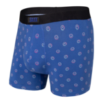 Saxx Saxx Underwear, Undercover Boxer Brief Fly, Mens, HTD-Nvy Have a Trippy Day
