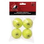 Hockey Canada Hockey Canada Mini Hockey Speed Ball, 4-Pack, Yel