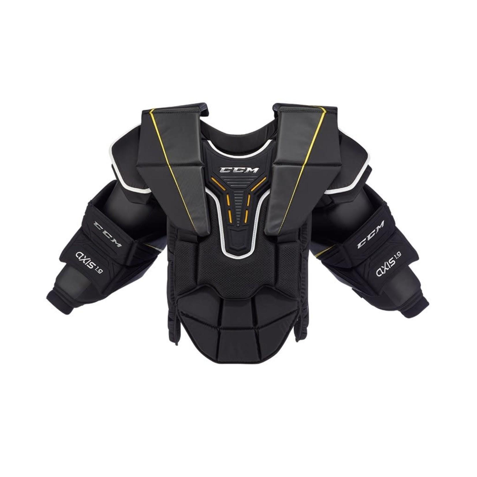CCM CCM Hockey Goal Arm & Chest Protector, Axis A1.9, Intermediate