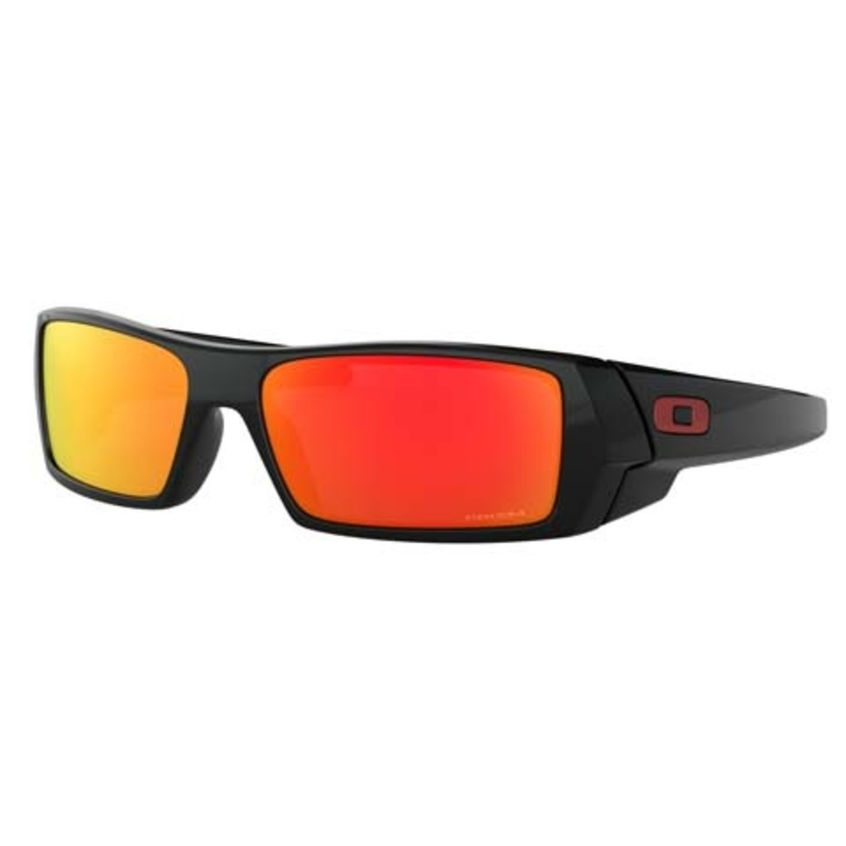 Oakley Oakley Sunglasses, Gascan, Polished Blk, Prizm Ruby