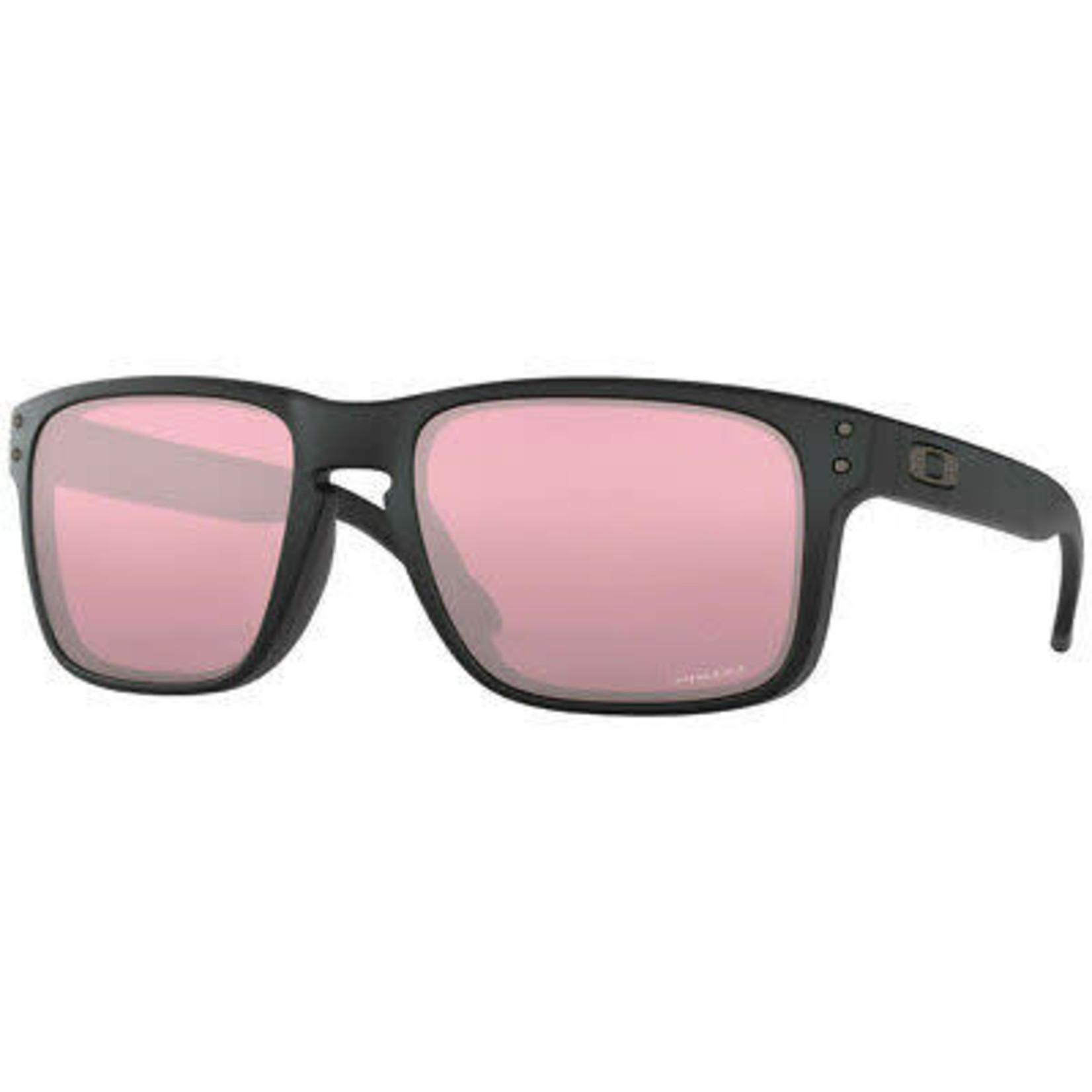Oakley Oakley Sunglasses, Holbrook, Matte Blk, Prizm Dark Golf